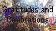 Gratitude's and Celebration Journal
